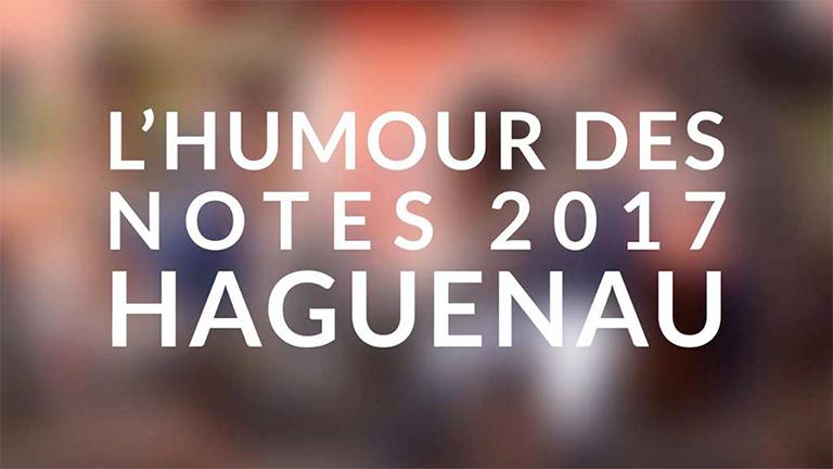 humour des notes 2017
